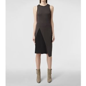 ALLSAINTS Sleeveless Carine Sheath Dress